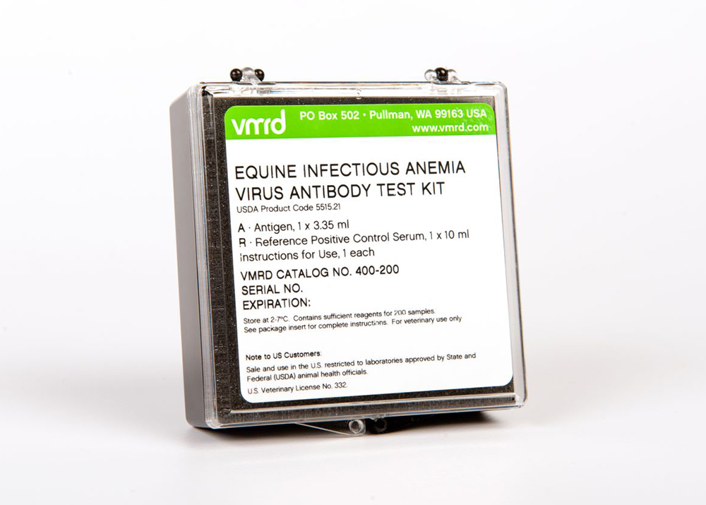 Equine Infectious Anemia Virus Antibody Test Kit (200 reactions)