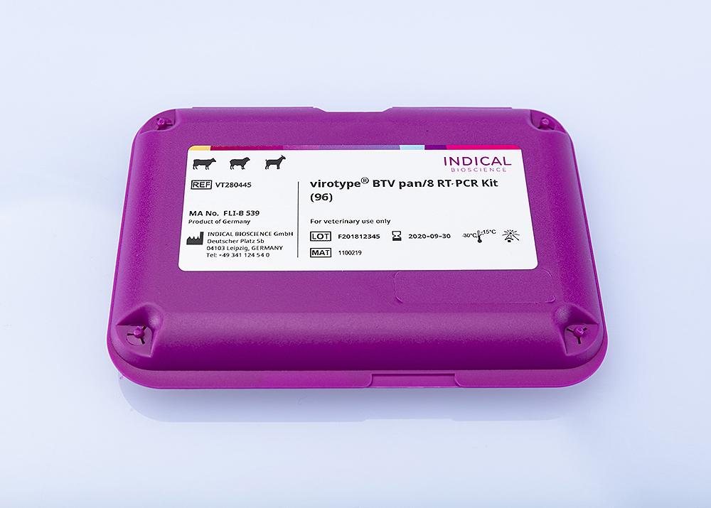 virotype  BTV pan/8 RT-PCR Kit (96 reactions)