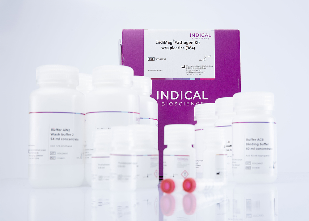 IndiMag Pathogen Kit w/o plastics (384 reactions)