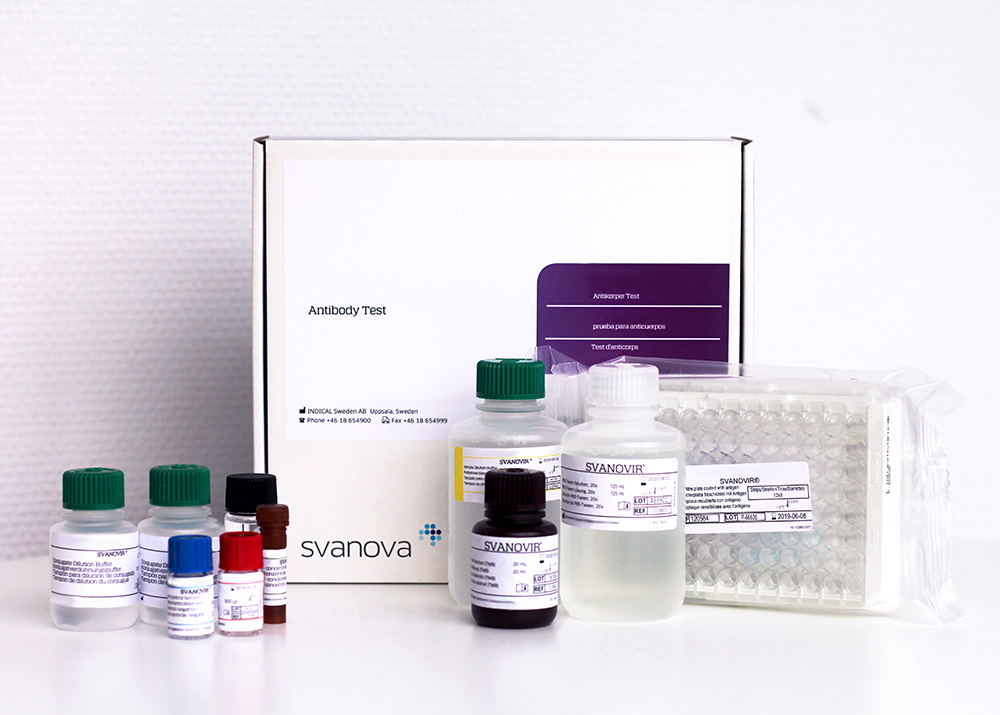 SVANOVIR EHV1/EHV4-Ab (2 ELISA plates)
